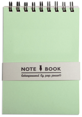Notebook for consecutive interpretation