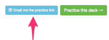 Email practice link